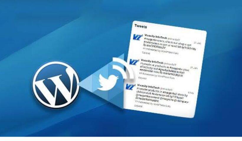 Wordpress Twitter Integration